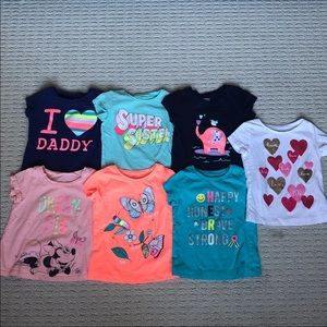 Baby Girl Tops (24 months)